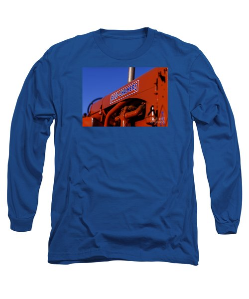 Allis-chalmers Vintage Tractor Long Sleeve T-Shirt