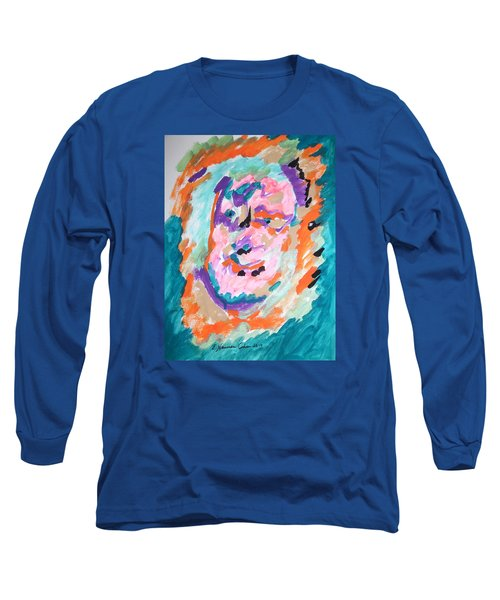 Long Sleeve T-Shirt featuring the painting Alter Ego by Esther Newman-Cohen