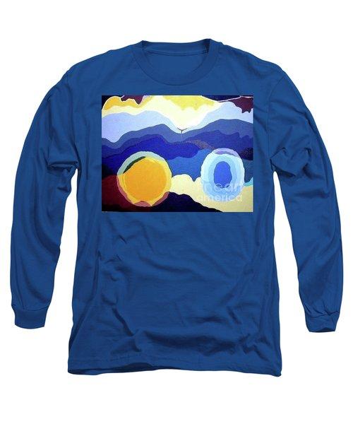 Amandas Abstract Long Sleeve T-Shirt