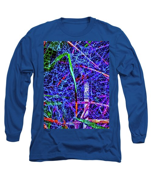 Amazing Invisible Web Long Sleeve T-Shirt by Gina O'Brien