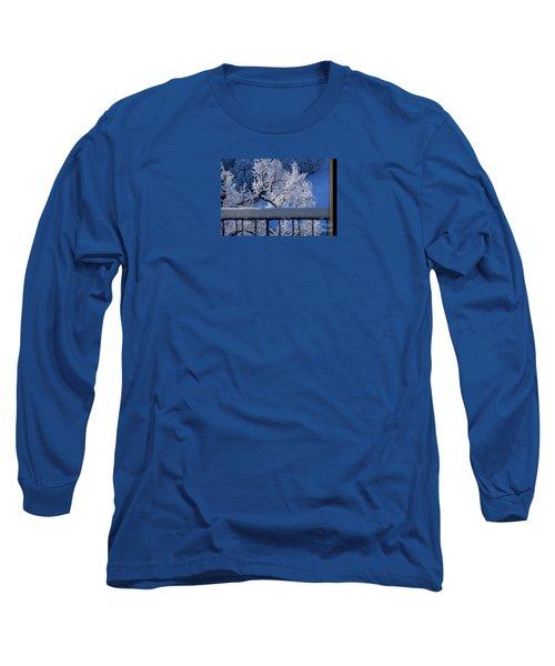 Long Sleeve T-Shirt featuring the photograph Amazing - Winterwonderland In Switzerland by Susanne Van Hulst