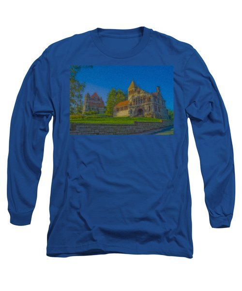 Ames Hall And Ames Free Library Long Sleeve T-Shirt