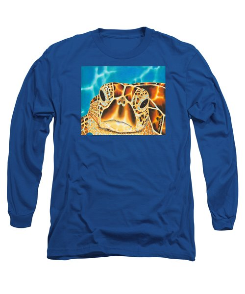 Amitie Sea Turtle Long Sleeve T-Shirt