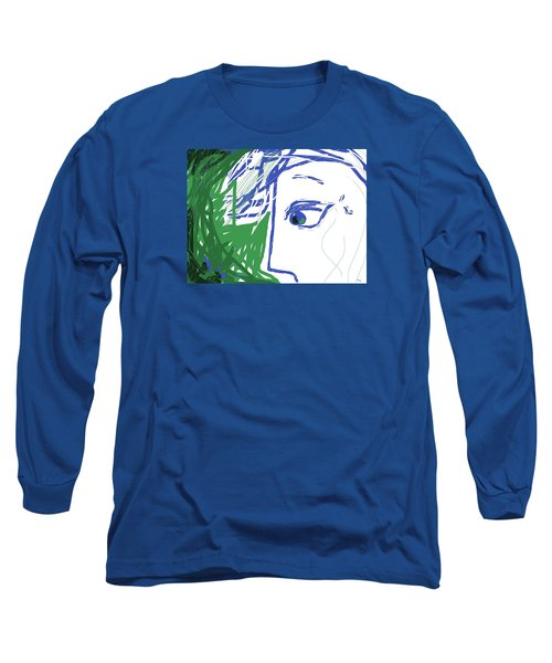 An Eye's View Long Sleeve T-Shirt by Mary Armstrong