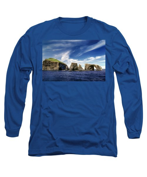 Channel Islands National Park - Anacapa Island Long Sleeve T-Shirt