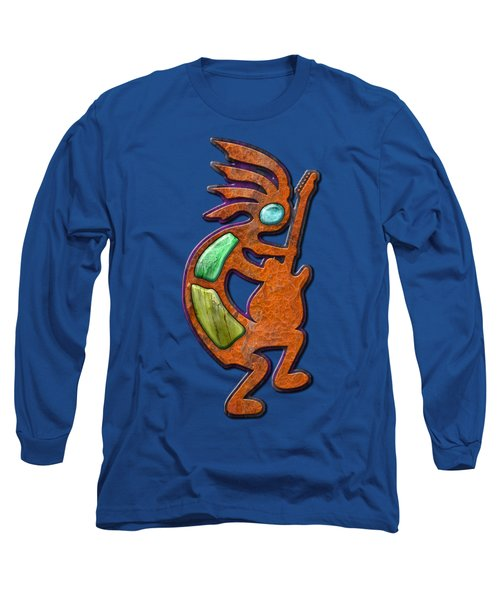 Ancient Blues T Shirt Long Sleeve T-Shirt by WB Johnston