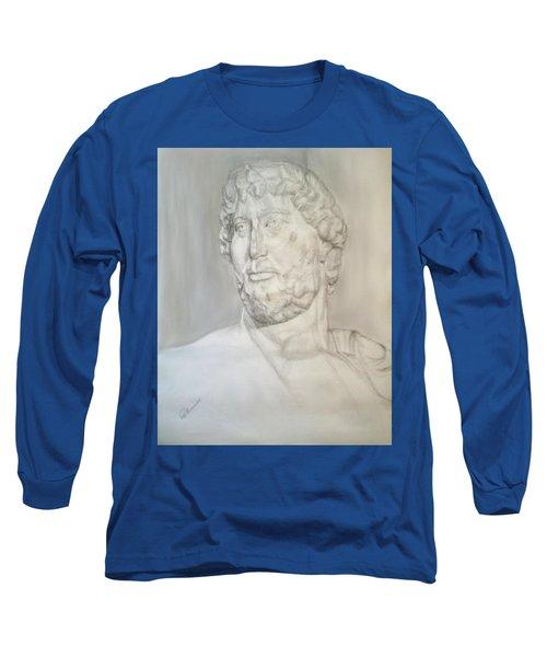Ancient Greek Statue Long Sleeve T-Shirt