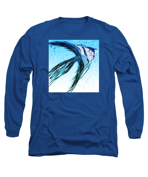 Angel Fish Art Long Sleeve T-Shirt