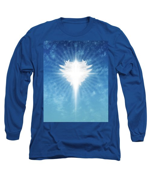 Angel In The Sky Long Sleeve T-Shirt by James Larkin