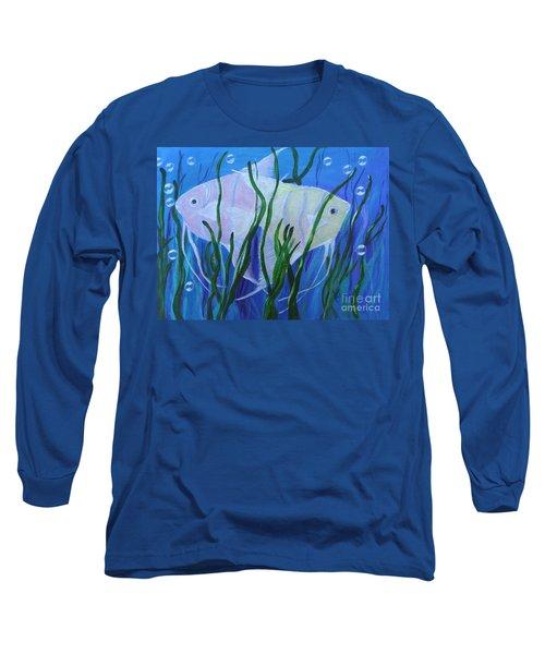 Angelfish Duo Long Sleeve T-Shirt
