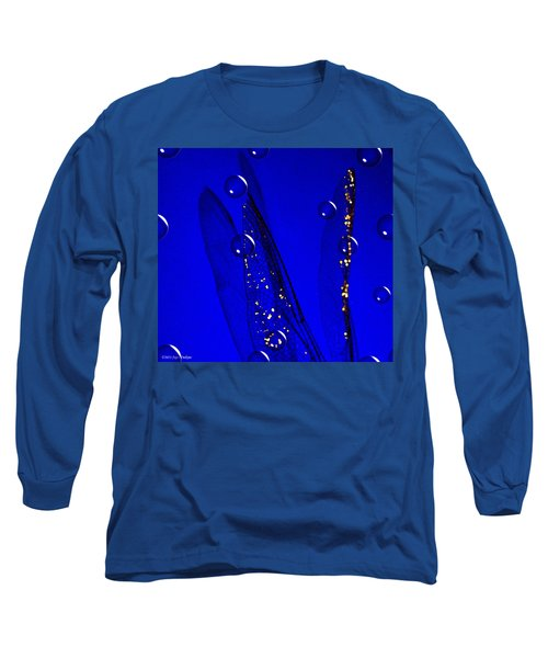 Angels Wings Blue Long Sleeve T-Shirt