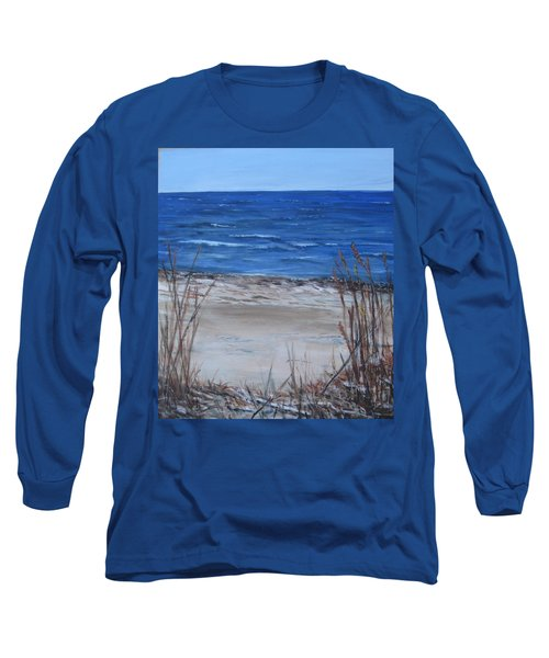 Another View Of East Point Beach Long Sleeve T-Shirt