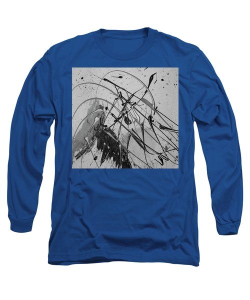 Long Sleeve T-Shirt featuring the painting Another World by Michael Lucarelli