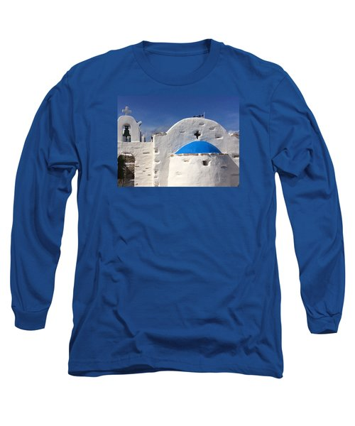 Long Sleeve T-Shirt featuring the photograph Antiparos Island Greece  by Colette V Hera  Guggenheim