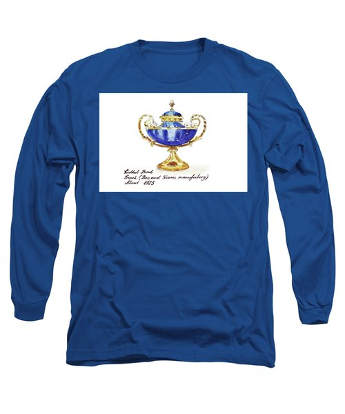 Antique French Bowl Long Sleeve T-Shirt