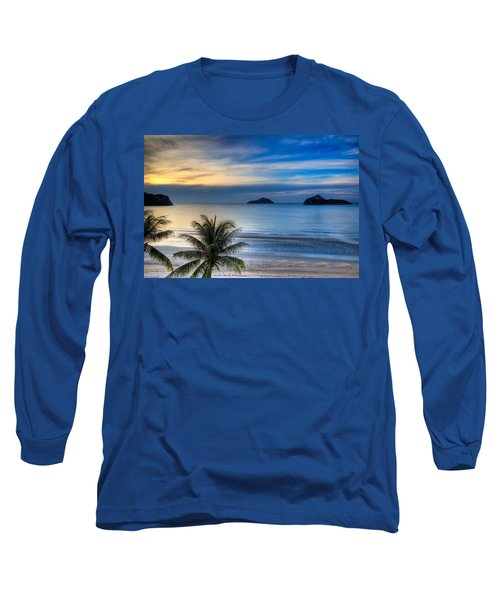 Ao Manao Bay Long Sleeve T-Shirt by Adrian Evans