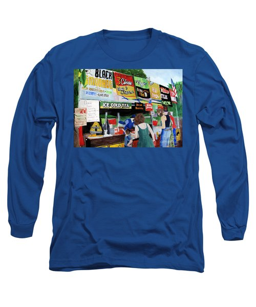 Appalachian Picnic Long Sleeve T-Shirt by Sandy McIntire