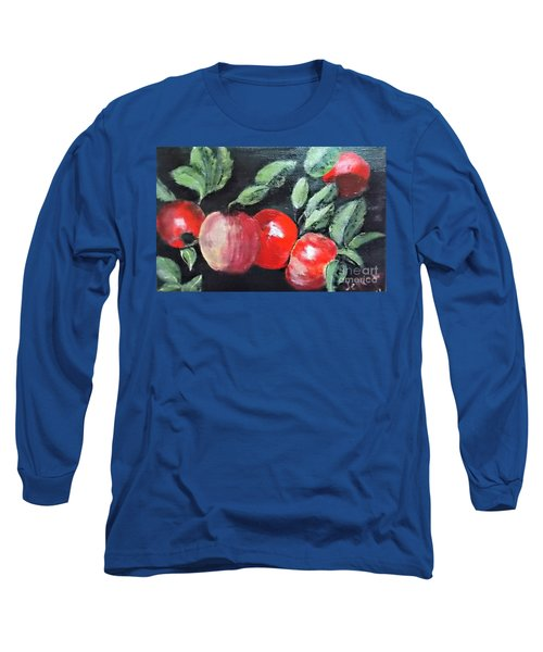 Apple Bunch Long Sleeve T-Shirt by Francine Heykoop