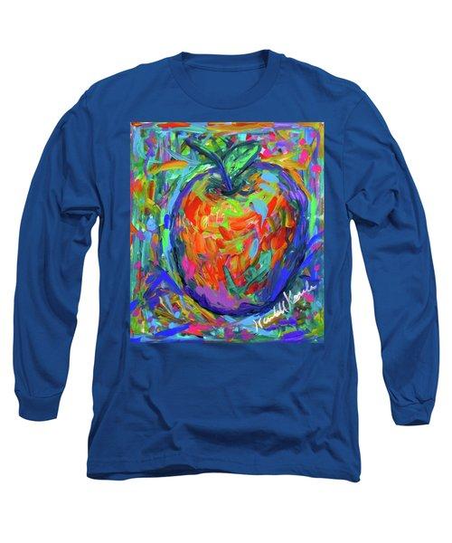 Apple Splash Long Sleeve T-Shirt