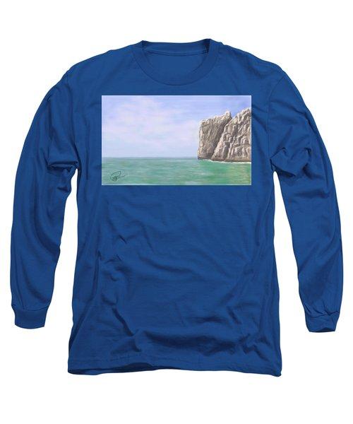 Aqua Sea Long Sleeve T-Shirt