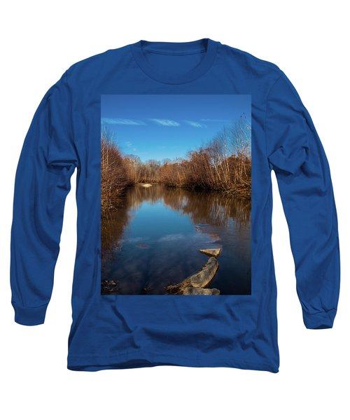Long Sleeve T-Shirt featuring the photograph Ararat River by Randy Sylvia