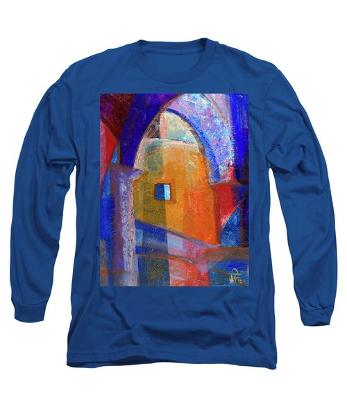 Arches And Window Long Sleeve T-Shirt by Walter Fahmy
