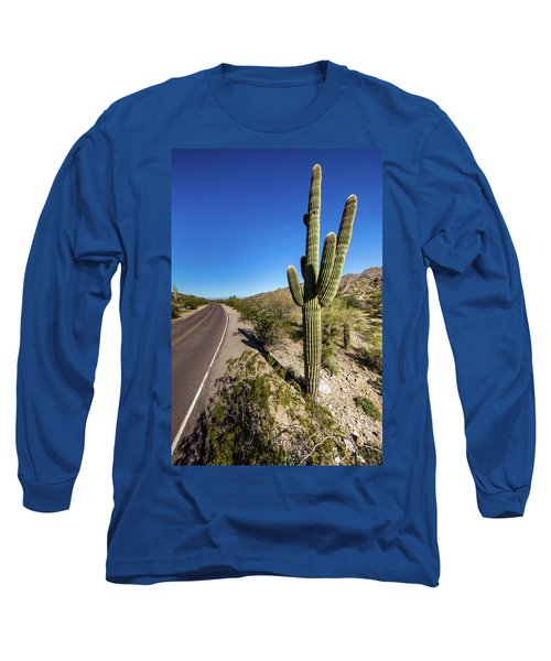 Long Sleeve T-Shirt featuring the photograph Arizona Highway by Ed Cilley