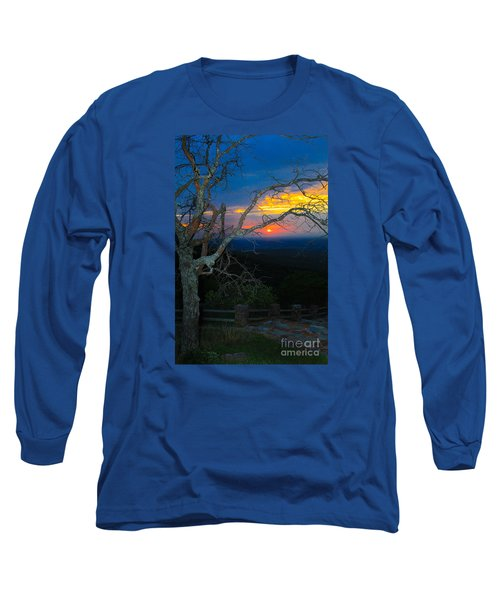 Arkansas Sunset II Long Sleeve T-Shirt