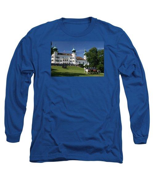 Artstetten Castle In June Long Sleeve T-Shirt