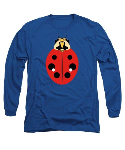 Ladybug Graphic Red Long Sleeve T-Shirt