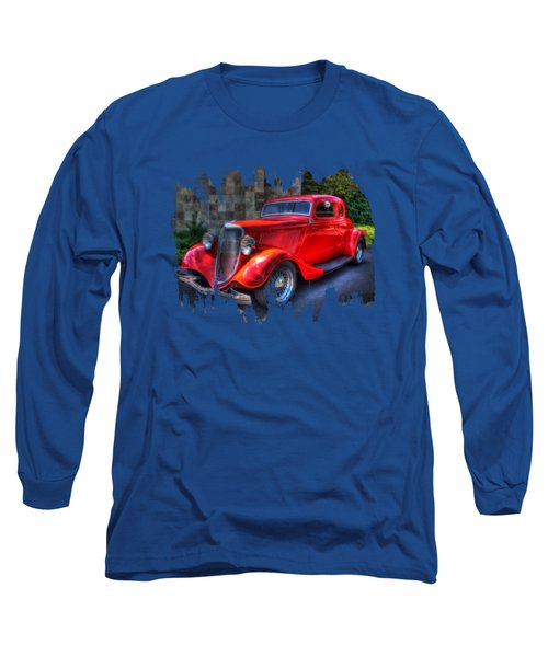1934 Red Ford Coupe Long Sleeve T-Shirt
