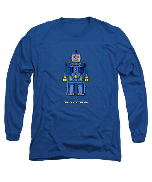 R3 Tr0 Robot Long Sleeve T-Shirt