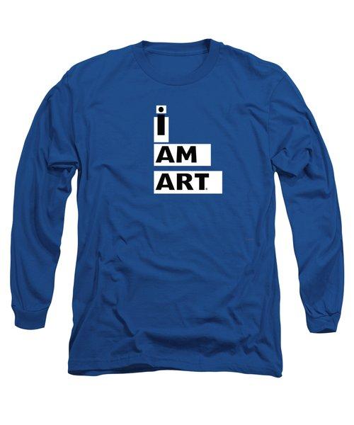 I Am Art Stripes- Design By Linda Woods Long Sleeve T-Shirt