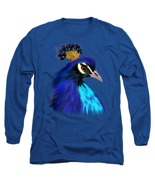 Gift Of Indra Long Sleeve T-Shirt by Iowan Stone-Flowers
