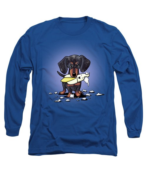 Dapple Doxie Destroyer Long Sleeve T-Shirt
