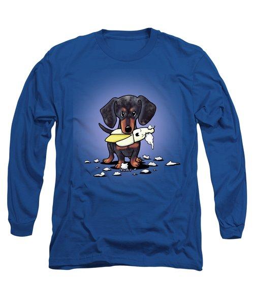 Dapple Doxie Destroyer Long Sleeve T-Shirt