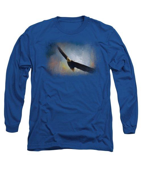 Ascending Long Sleeve T-Shirt by Jai Johnson