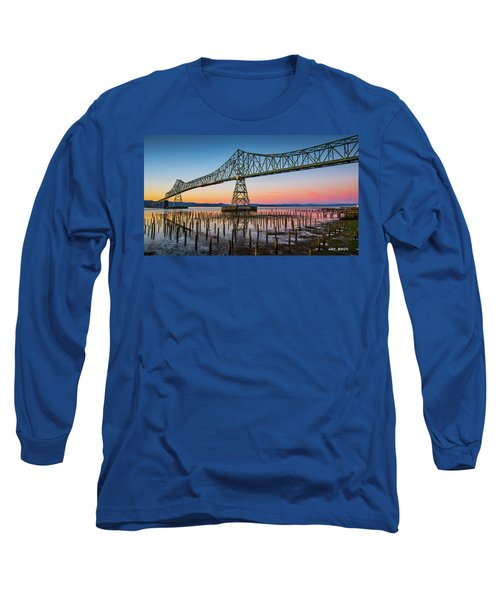 Astoria Megler Bridge Long Sleeve T-Shirt