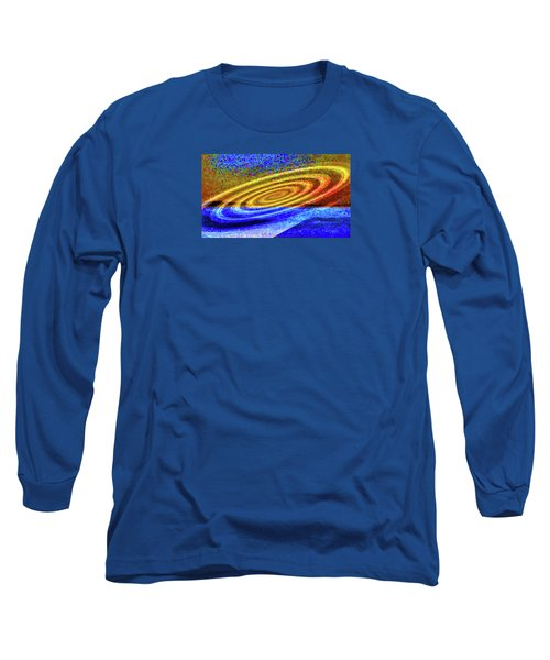 Asymmetrical Amid Chaos Long Sleeve T-Shirt by Mike Breau