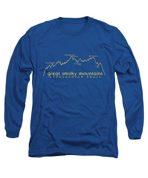 At Elevation Profile Gsm Mustard Long Sleeve T-Shirt by Heather Applegate