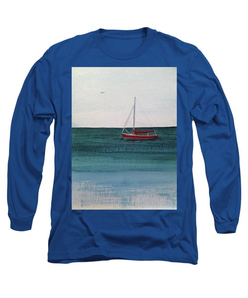 At Rest Long Sleeve T-Shirt by Wendy Shoults