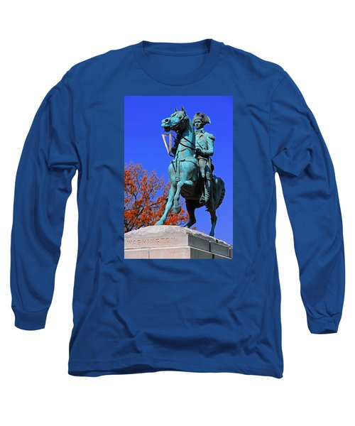 At The Battle Of Princeton Long Sleeve T-Shirt by Iryna Goodall