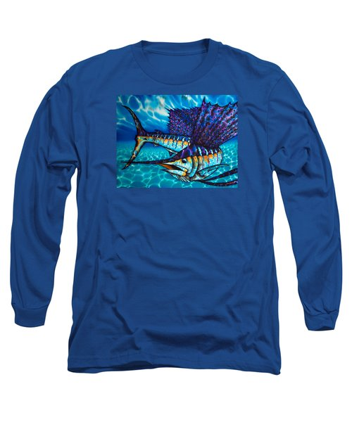 Atlantic Sailfish Long Sleeve T-Shirt