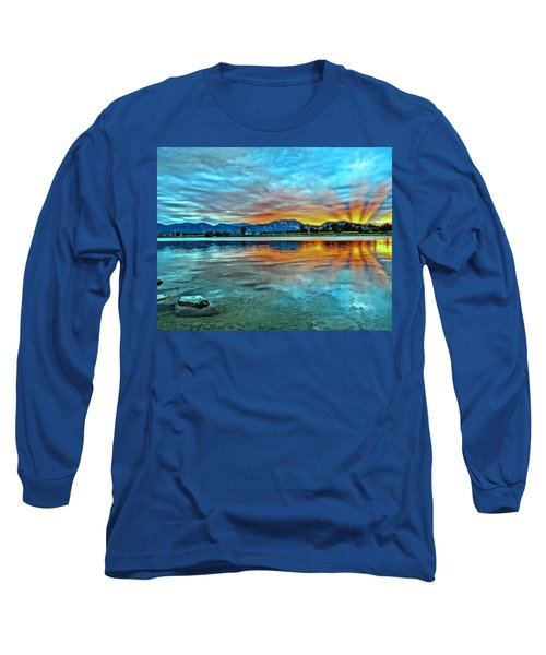 Atom  Long Sleeve T-Shirt by Eric Dee