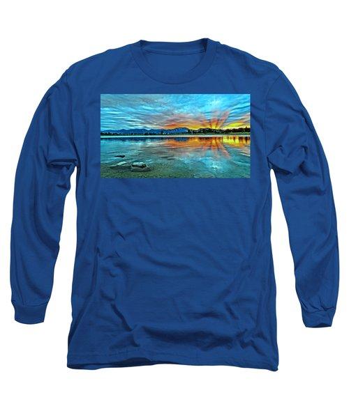 Atom  Long Sleeve T-Shirt