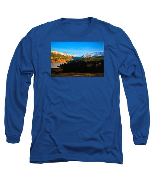 Autumn Drama Long Sleeve T-Shirt by Laura Ragland