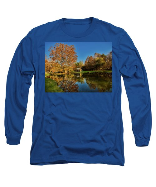 Autumn In West Virginia Long Sleeve T-Shirt by L O C