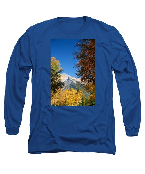 Autumn Peaks Long Sleeve T-Shirt by Lawrence Boothby