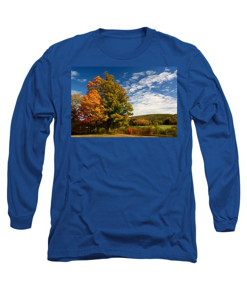 Autumn Tree On The Windham Path Long Sleeve T-Shirt