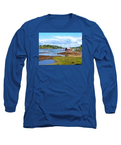Bailey Island Lobster Shack Long Sleeve T-Shirt